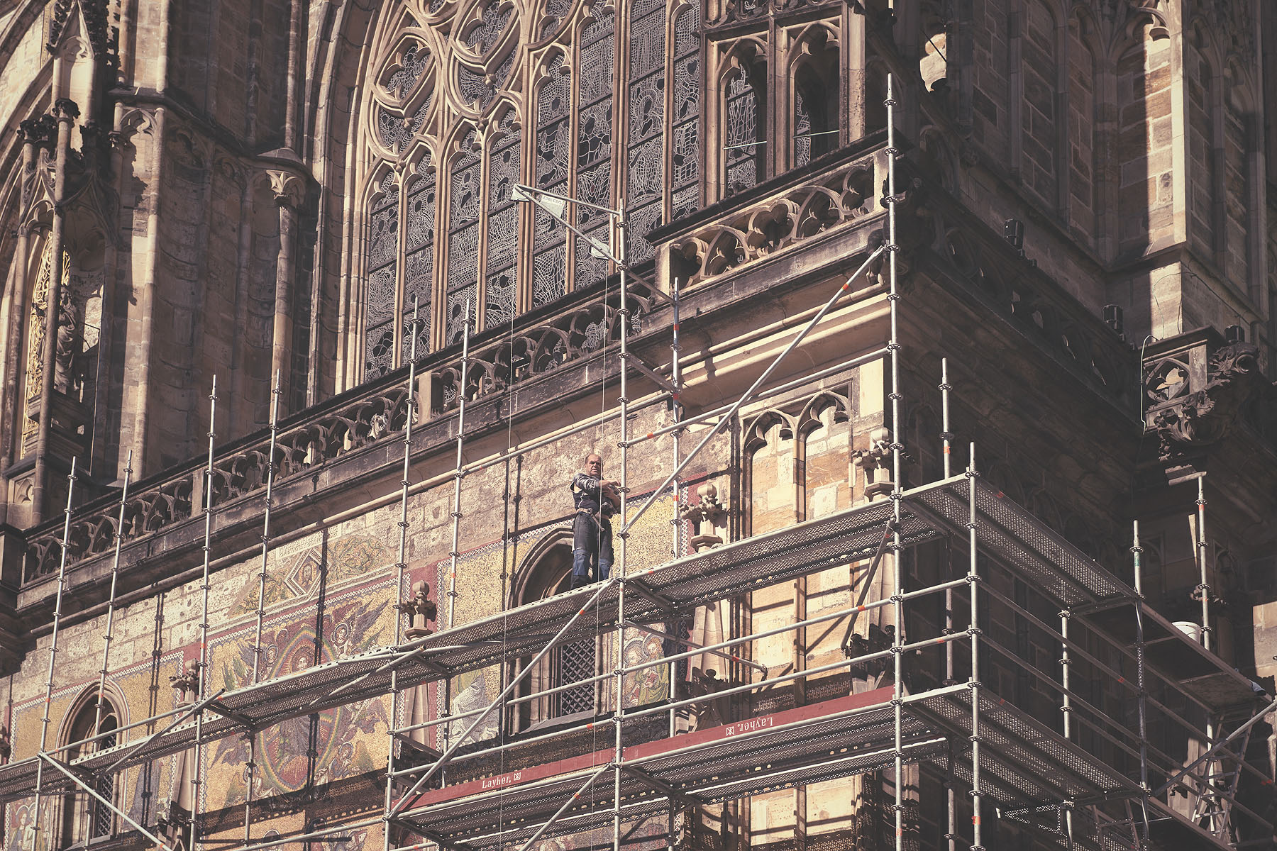 Restoration of St. Vitus Cathedral